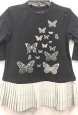 SMILE Smile Butterfly with Pleated Bottom Dress