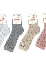 Condor Condor Shimmer Crotchet Knee Sock