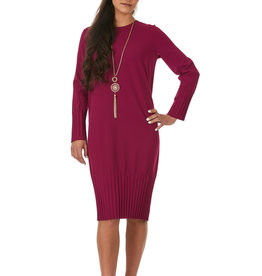 Bella Donna Bella Donna Pleated Cocoon Dress