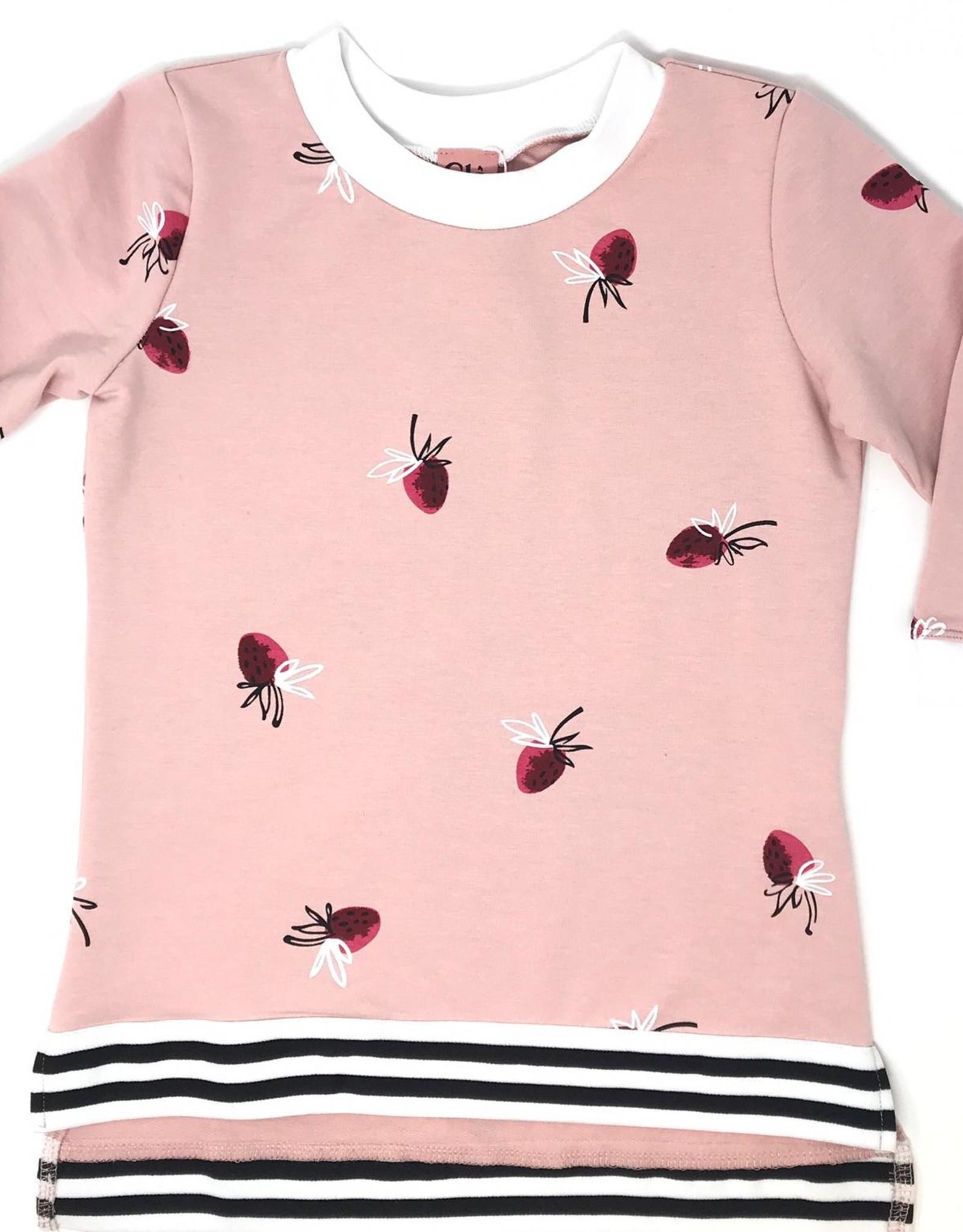 Clo Clo Printed Strawberry Top