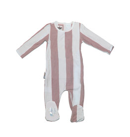 Maniere Maniere Striped Cotton Footie