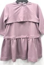 C.T.N. C.T.N. Overlay Pique Dress