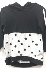 So What So What Hooded Top with Printed Stars