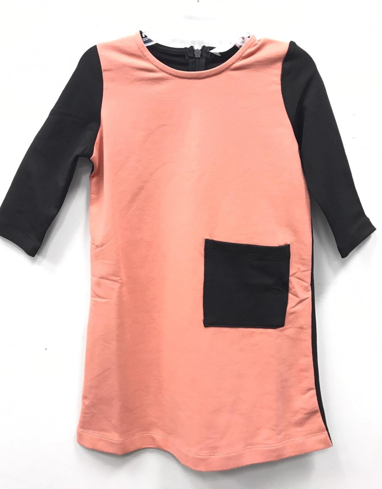 Citrus Citrus Colorblock Dress with Pocket