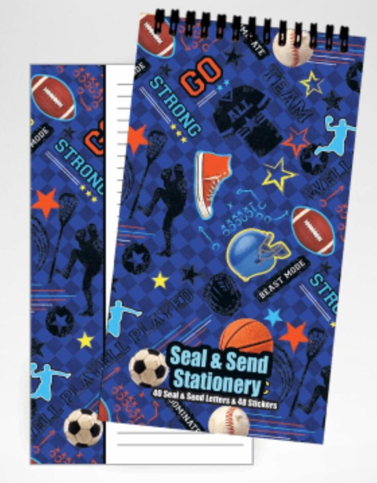 ISCREAM Iscream Seal and Send Stationary (40 Letters)
