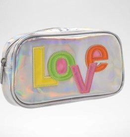ISCREAM Iscream LOVE Holographic Cosmetic Bag