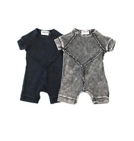 Pronto Pronto Rib Onesie with Stitch Detail