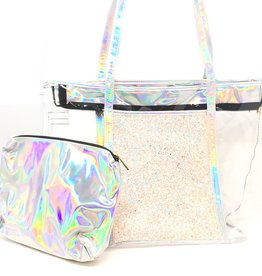 Maniere Maniere Sparkle Beach Bag