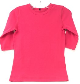 24/7 24/7 Girls Micro Rib Solid Tshirt