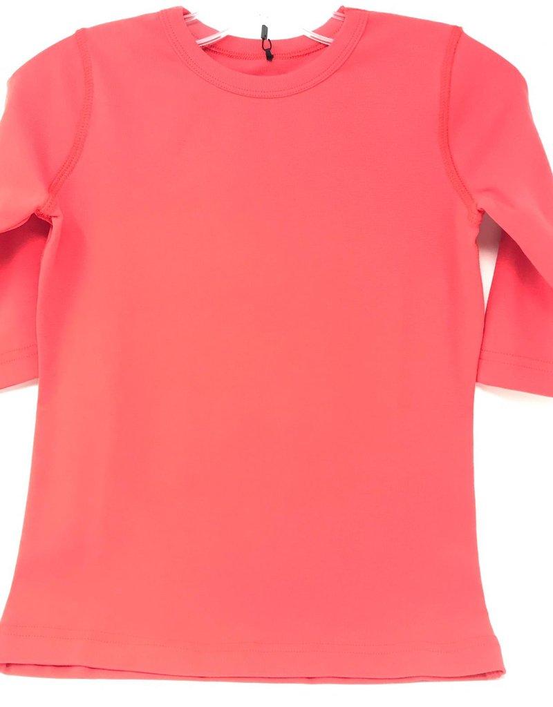 24/7 24/7 Girls Micro Rib Solid Tshirt