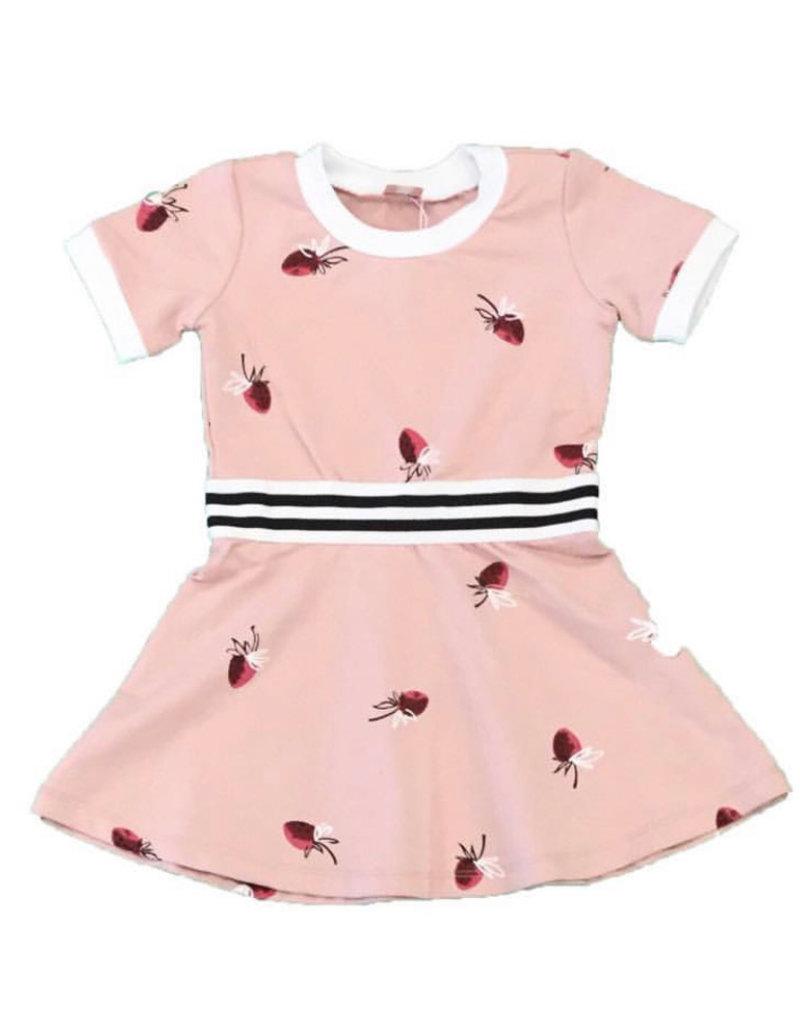 Clo Clo Printed Strawberry Dress