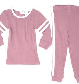 Pronto Pronto Rib Pajama with Contrast Binding