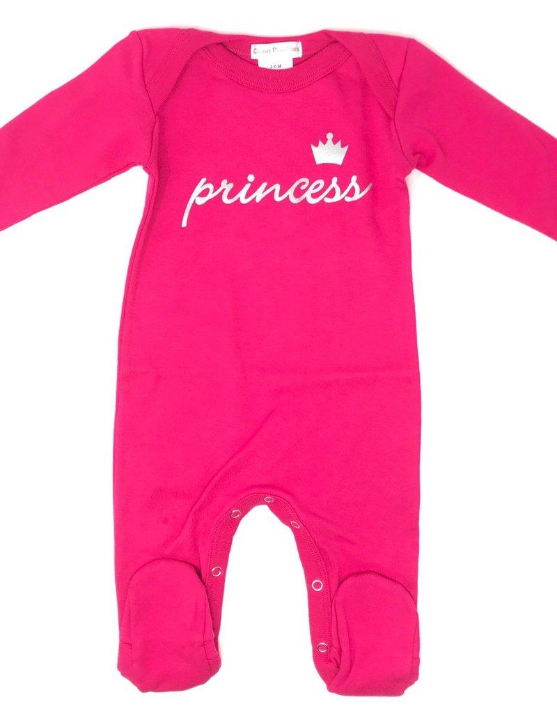 Coton PomPom Coton PomPom Prince/Princess Footie