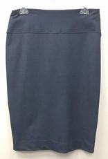 Elle Couture Elle Couture Stretch Denim Pencil Skirt