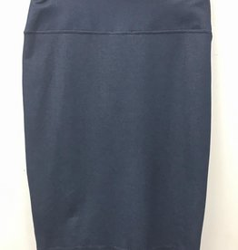 Elle Couture Elle Couture Stretch Denim Pencil Skirt