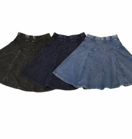 FIVE STAR Five Star Flare Skirt with Side Cut