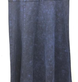 FIVE STAR Five Star Flare Long Skirt with Side Cut