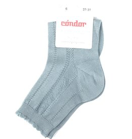 Condor Condor Detailed Scallop Edge Sock
