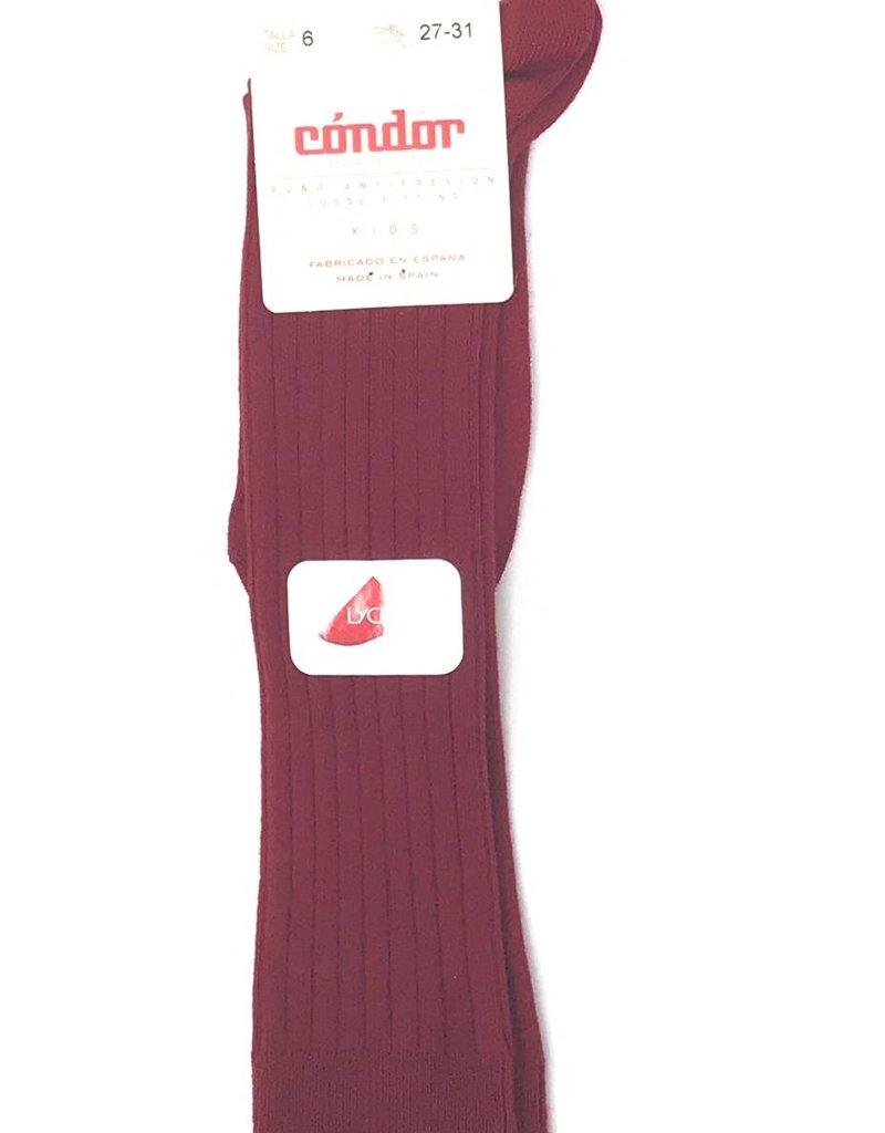 Condor Condor Ribbed Knee Sock