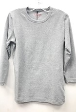 24/7 24/7 Basic Colors Cotton 3/4 Sleeve T-Shirt