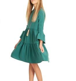 Indigo Indigo Tiered Dress
