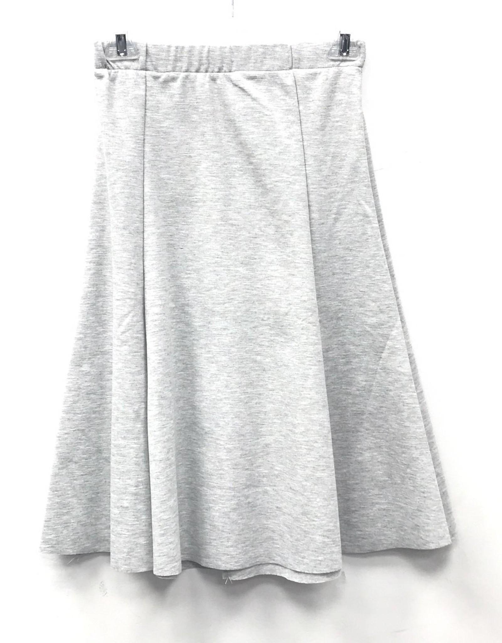 Modern Trends Modern Trends Ponte Panel Flare Skirt