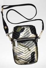 ISCREAM Iscream Chevron Stitched Cell Phone Bag