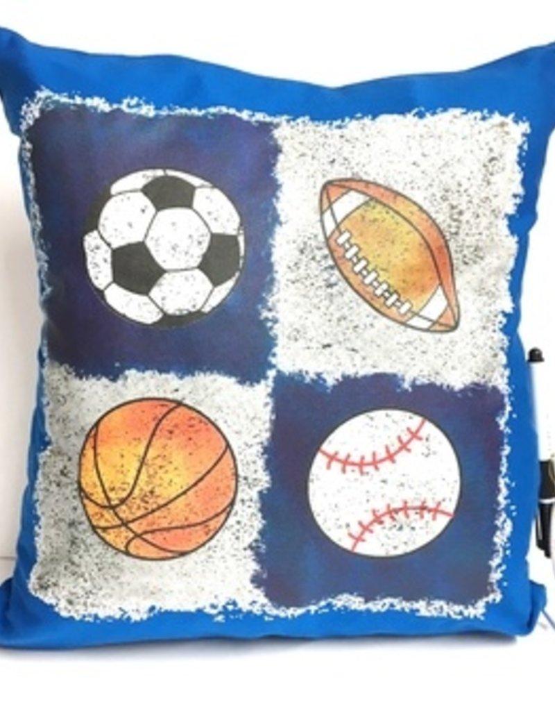 Bunk Junk Bunk Junk Quad Sports Autograph Pillow