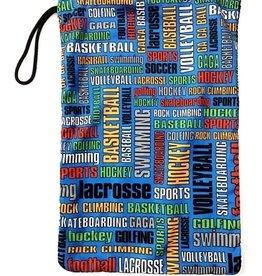 Bunk Junk Bunk Junk Sports Graffiti Sock Bag