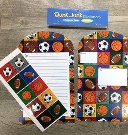 Bunk Junk Bunk Junk Sports Stationery Set