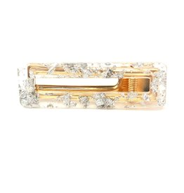 TY TY Lucite Rectangle Clip