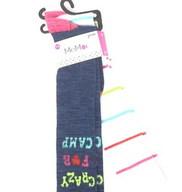 Memoi Memoi Crazy for Camp 2-Pack Knee Sock