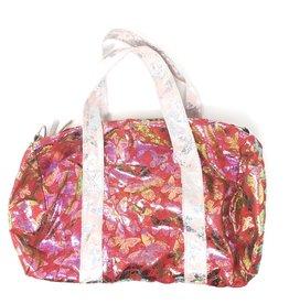 Maniere Maniere Metallic Butterfly Duffel Bag