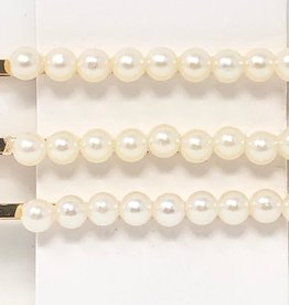 TY TY Simple Pearl Row Hair Pin Set of 3