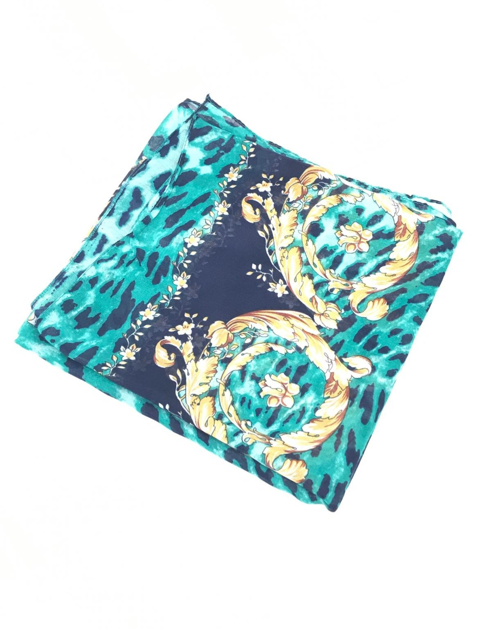 The Scarf Shoppe Printed Mitpachat