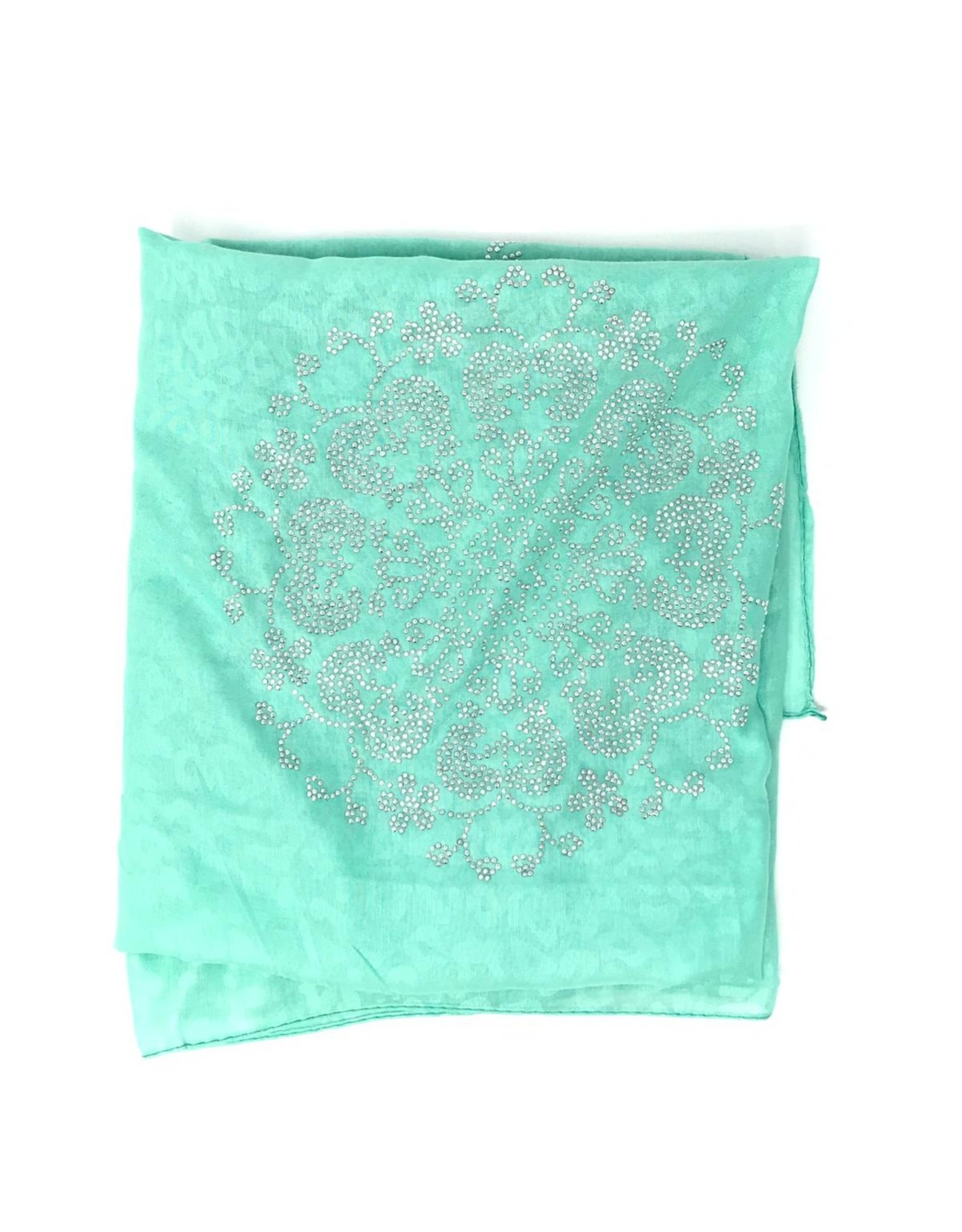 The Scarf Shoppe Studded Shimmer Mitpachat