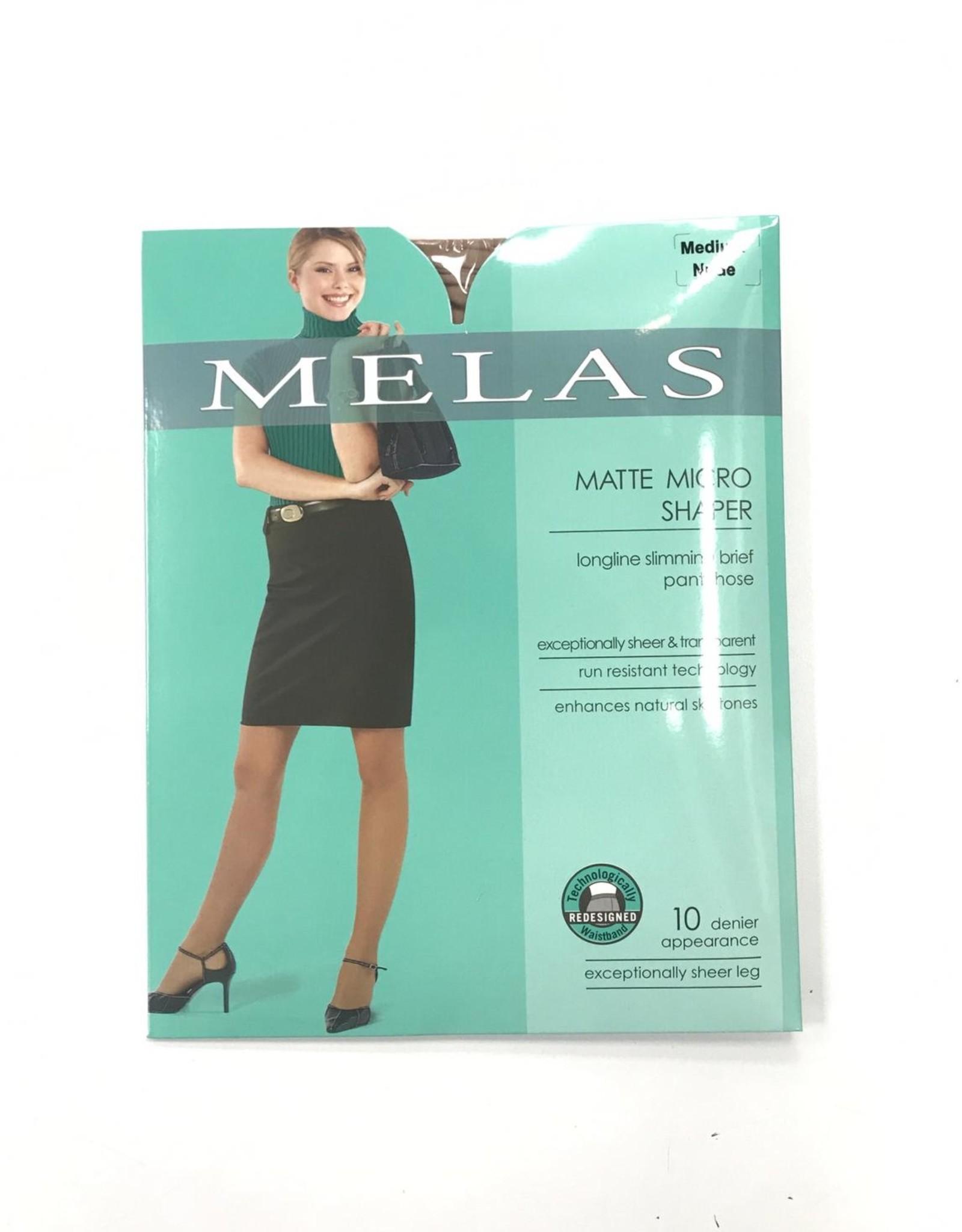 Melas Melas Matte Micro Shaper Pantyhose