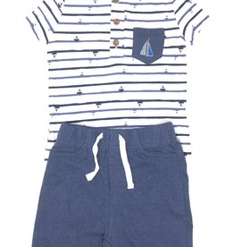Asher and Olivia Asher and Olivia Sailboat 2Piece Set