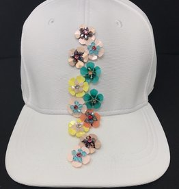 Mad Hatter Mad Hatter Mini Beaded Floral Cap