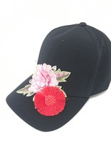 Mad Hatter Mad Hatter Fabric Flowered Cap