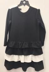 Mi Mi Collection Drop Waist Tiered Dress