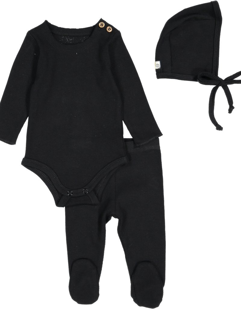 LIL LEGS Three Piece Rib Set
