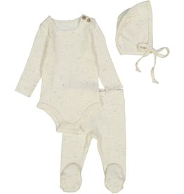 LIL LEGS Three Piece Speckle Rib Set