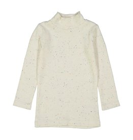 LIL LEGS Speckle Rib Turtleneck