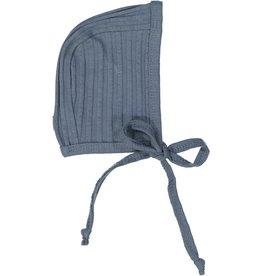 LIL LEGS Wide Rib Bonnet