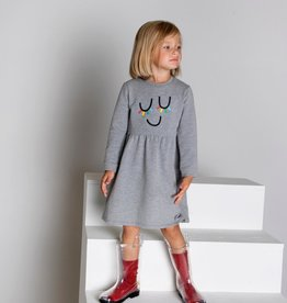 LUX Lux Rainbow Eyelash Dress