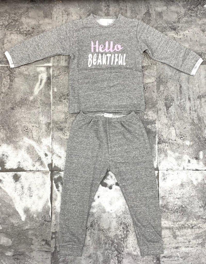 Coton PomPom Coton PomPom Hello Beautiful/Handsome Pajama
