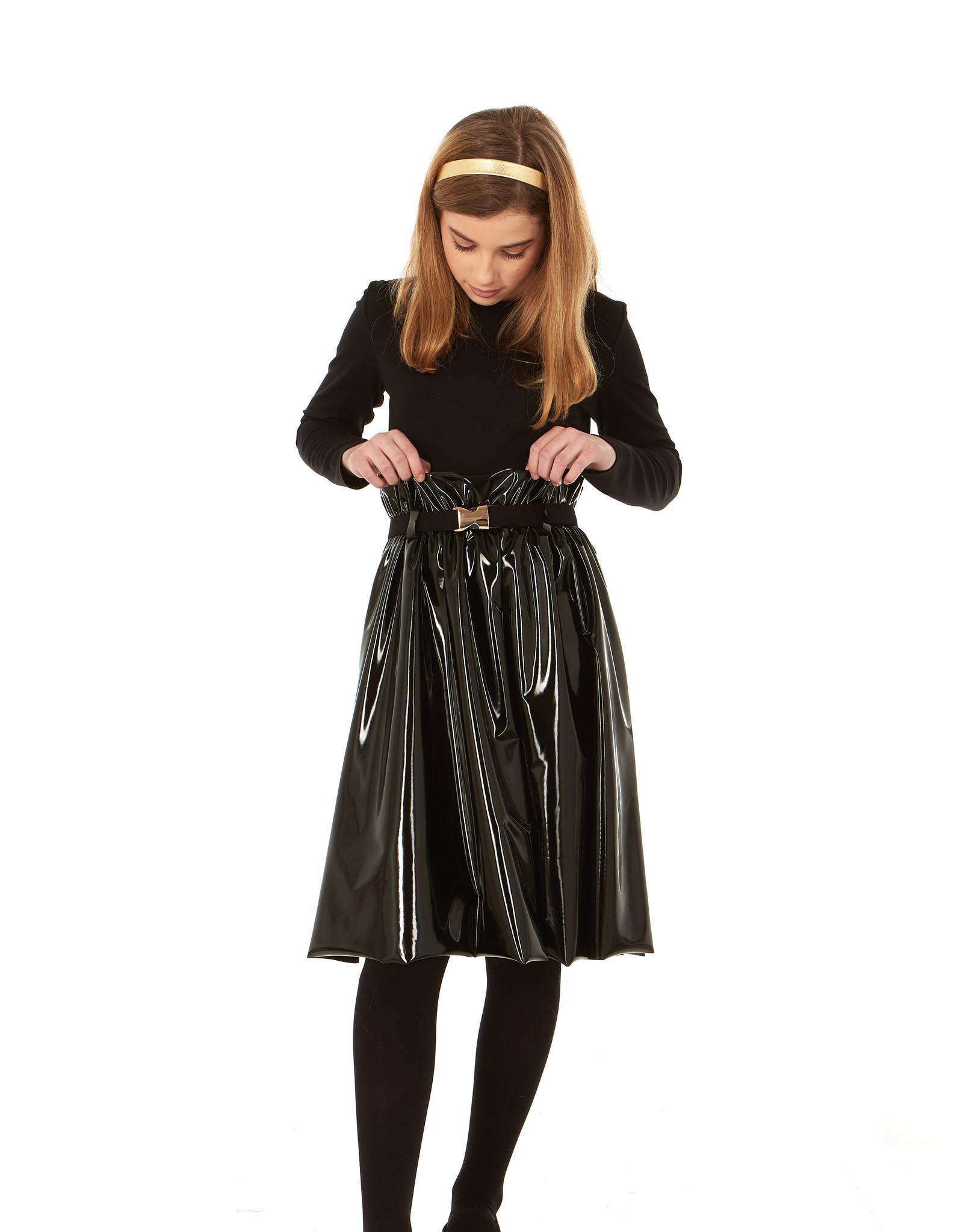 Indigo Indigo Belted Raincoat Dress