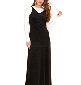 Bella Donna Bella Donna Velvet Slip Maxi Dress