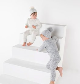 Milk Milk Cable Knit 3 Piece Set (Pants/Top/Hat)
